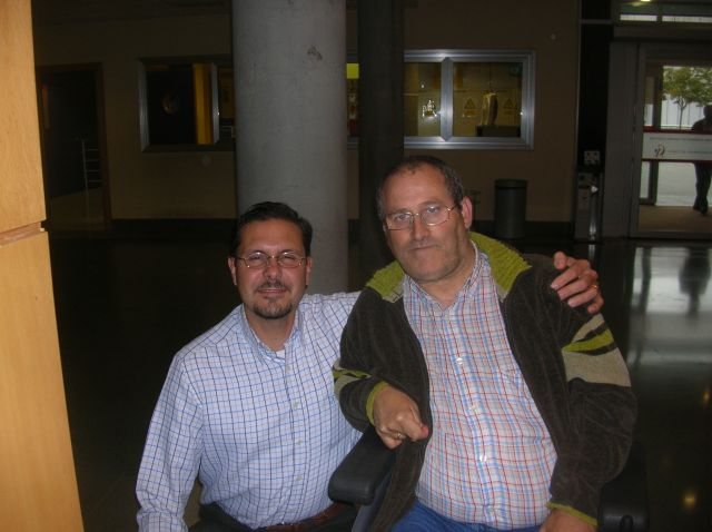 Con  el  Doctor Traumatologo GIOVANNI BELTRAMI