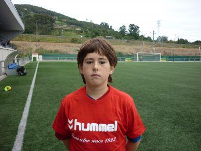 Adrian jugador 3ª Infantil