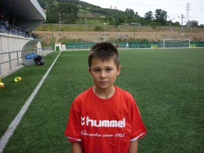 Ivan Mata jugador 3ª Alevin