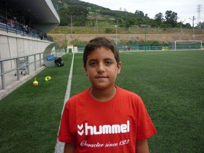 Matias jugador 3ª Infantil