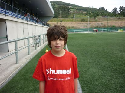 Sergio jugador 3ª Alevin
