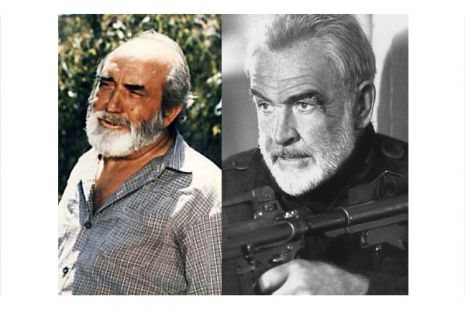 Chanquete y Sean Connery