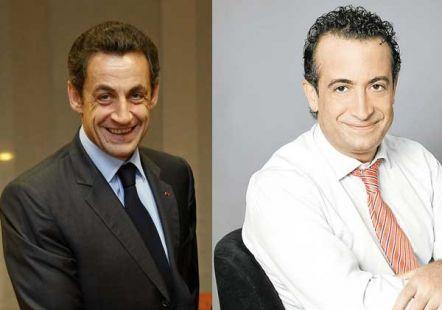 Sarkozy y J.J. Santos
