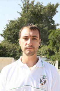 Alberto Estudiantes - entrenador 3 alevin
