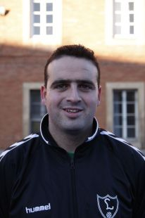Alfonso González - entrenador 2ª benjamín