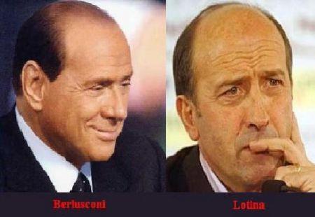 Berlusconi y Lotina