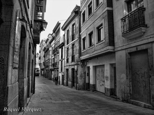 calle Oscura, de Oviedo