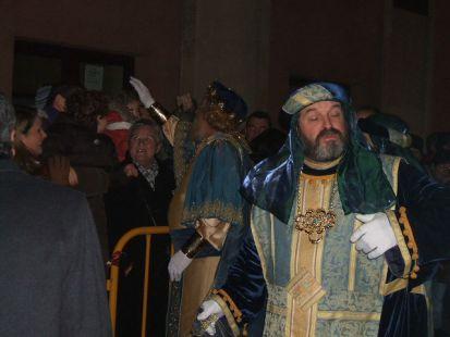 Rey Gaspar y su séquito