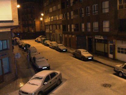 Neva en Gijón. Calle Alarcón (2)