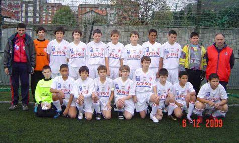 Plantilla C.D Santa Marina Infantil 09-10