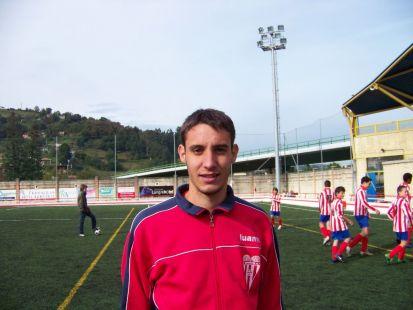 Juan Gonzalez - entrenador 2ª infantil