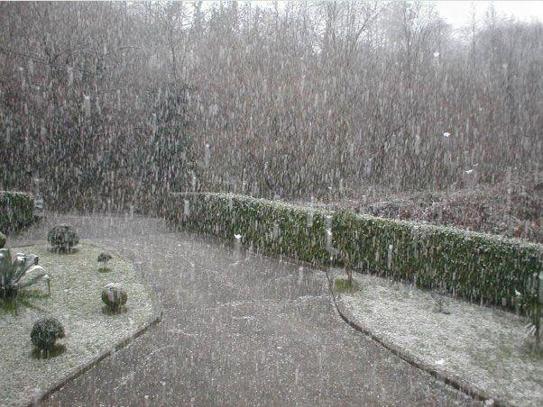 Primera nevada del 2010 - Miera Abajo