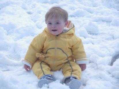 Pablo Giganto descubre la nieve