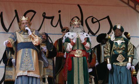 Los Reyes Magos llegan a Gij�n