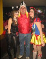 Puchi y Pachu en carnaval