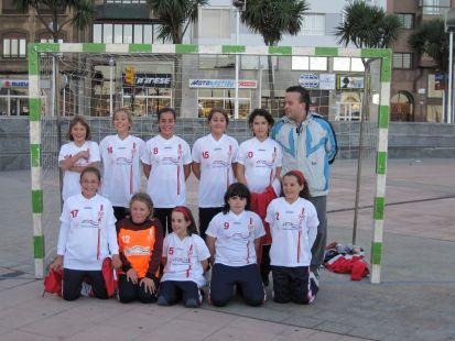 Alevín femenino 2010