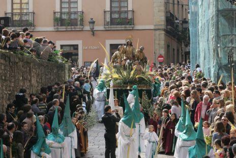 Domingo Santo en Gijón