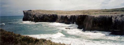 acantilados de Guadamia