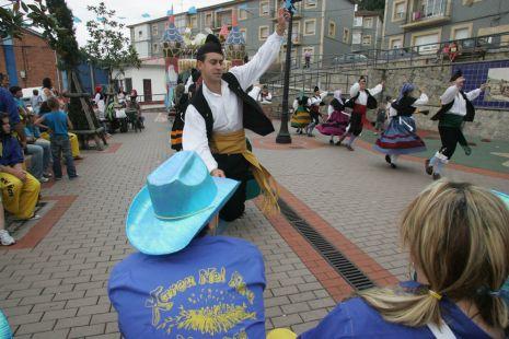 Fiestas en el barrio de Portuarios