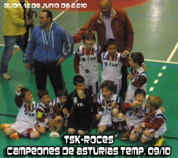 CAMPEONES DE ASTURIAS PRE-BENJAMINES 09/10