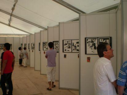 Exposicion de 100 Balas