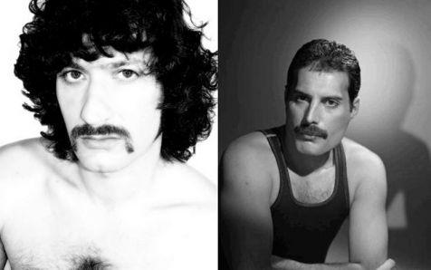 David Carretta y Freddie Mercury