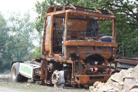 Que pena de camion