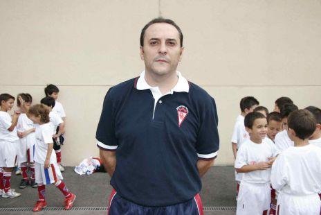 Francisco Za - entrenador prebenjamín