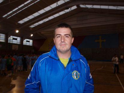 Jairo García - entrenador benjamín C