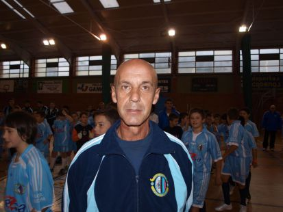 Javier Amoedo - entrenador infantil.a