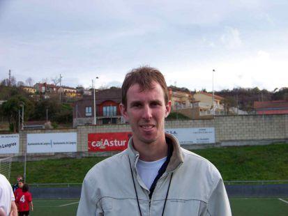 Octavio Menéndez - entrenador 3ª alevín C