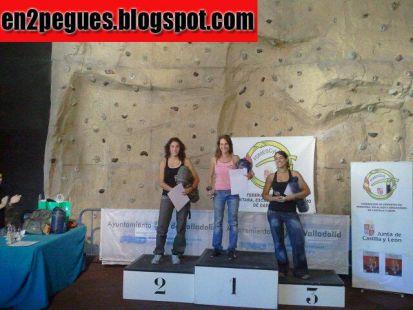 Hasta Valladolid - Podium Femenino