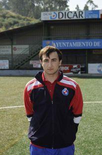 Adrián Sarmiento - entrenador 3ª alevín