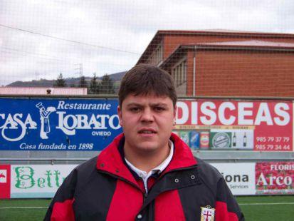 Alberto Díaz - entrenador 3ª infantil