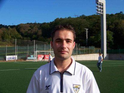 Alejandro Santia - entrenador 2ª alevín