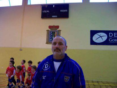 Belarmino Alonso - entrenador prebenjamín