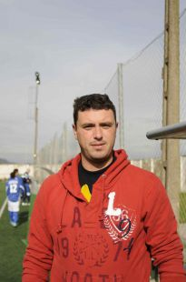 David González - entrenador  3ª cadete
