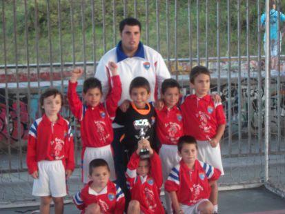 XEITOSA-B DE PREBENJAMIN GANADOR DEL TORNEO DEL GIJON INDUSTRIAL-2010