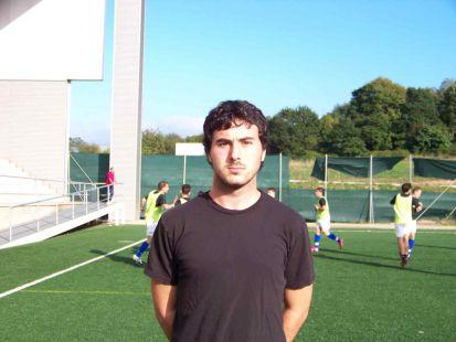 Hugo Martínez - entrenador 3ª infantil B