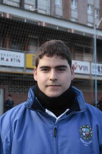 Javier Garc�a - entrenador 3� alav�n C
