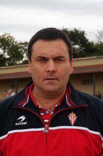 Javier González - entrenador 2ª cadete B