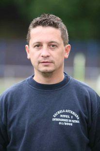 Jorge González - entrenador 1ª cadete