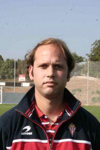 José Alberto - entrenador 1ª infantil b