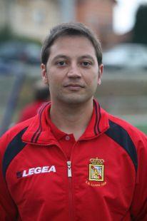 José Diego - entrenador 1ª infantil