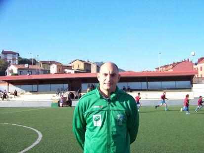 José Miguel Real - entrenador  2ª alevín