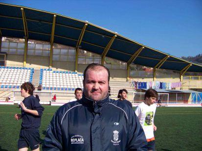 Vicente González - entrenador 3ª alevín