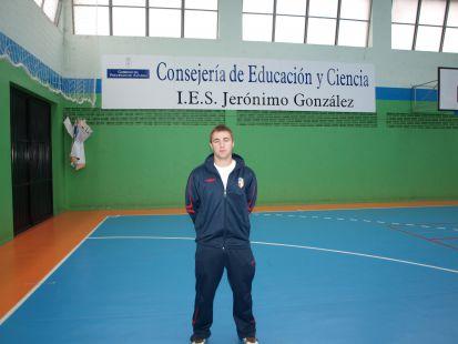 Adrian Palacio - entrenador prebenjamín D