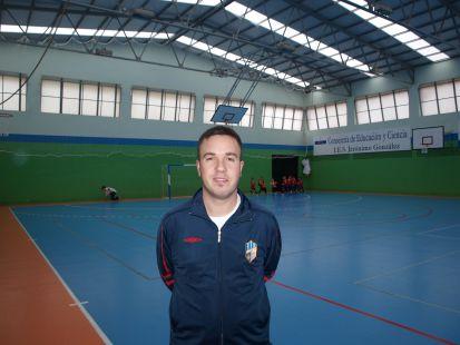 Pablo Casal  - entrenador prebenjamín