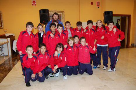 Foto de equipo entrega premios torneo de navidad