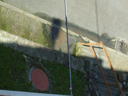 insoportable el Olor  de alcantarillado en calle murcia  la carriona